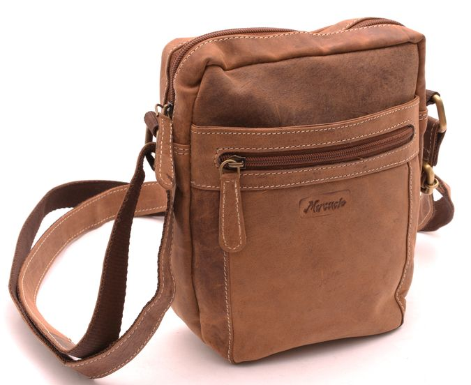 6d0e65535c Taška Crossbody svetlý Tan Hunter - Diverseshop Diverseshop taška