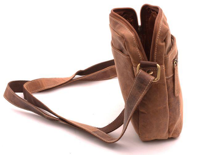 006411cd9 Taška Crossbody svetlý Tan Hunter - Diverseshop Diverseshop taška