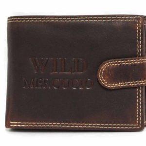Peňaženka lesklá hnedá