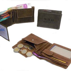 Peňaženka hnedá Tan