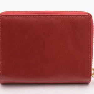 Dámska peňaženka červená vrecková