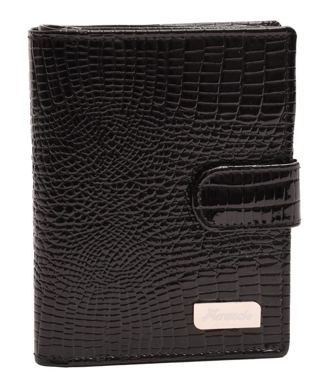 0c662f41b4 Dámska peňaženka lesklá čierna - Diverseshop kožené doplnky moderné