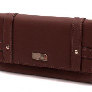 Dámska peňaženka tmavo hnedá