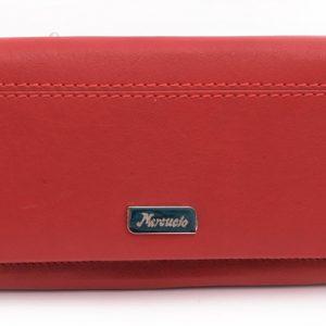 Dámska peňaženka prešívaná červená