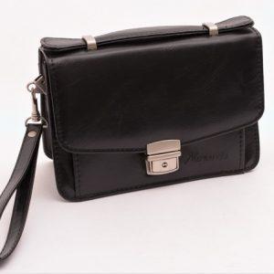 Pánska etue taška čierna
