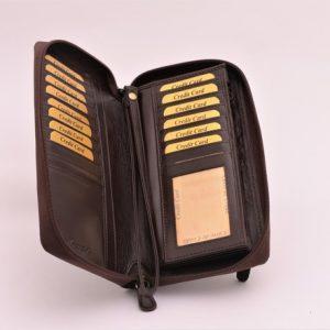 Etue príručná taška hnedá