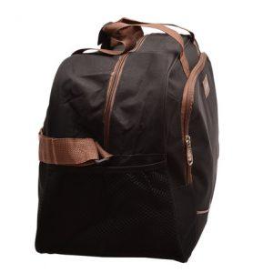 Cestovná taška čierna/hnedá