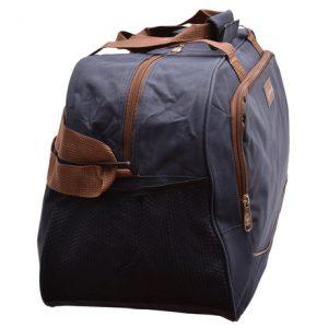 Cestovná taška modrá/hnedá