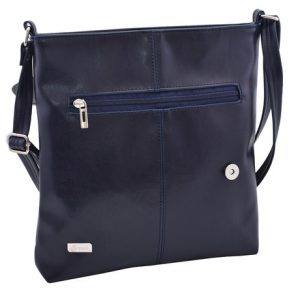 Dámska crossbody kabelka modrá