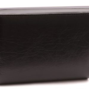 Dámska kabelka čierna lesklá