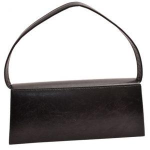 Dámska plesová kabelka čierna