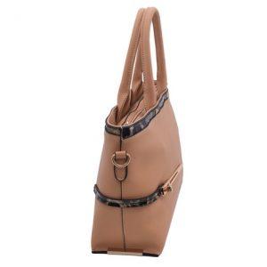 Dámska klasická kabelka marhuľová