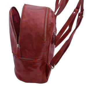 Dámsky batoh červený