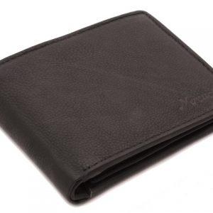 Peňaženka čierna zipsová