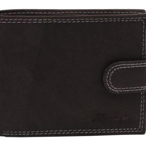 Peňaženka čierna prešívaná