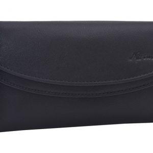 Peňaženka čierna s okrasným lemom