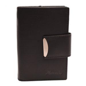 Peňaženka čierna s elegantným zapínaním