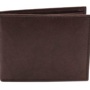 Peňaženka hnedá hladká