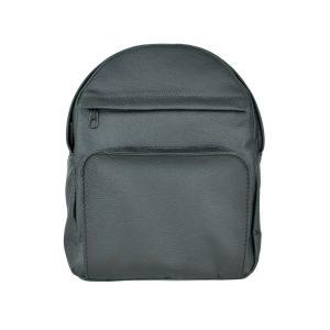 Kožený batoh z prírodnej kože, čierna farba