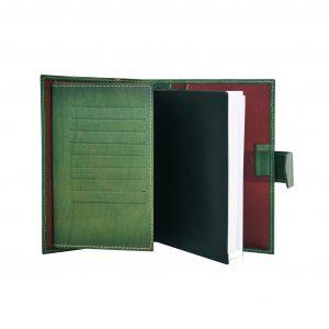 Luxusný kožený pracovný diár v zelenej farbe (limitovaná edícia)