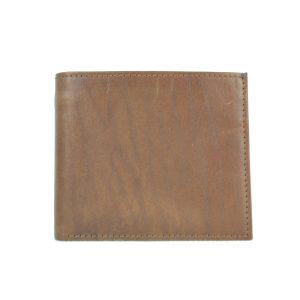 Luxusná peňaženka z pravej kože v hnedej farbe