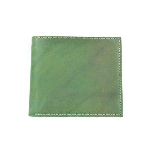 Luxusná peňaženka z pravej kože v zelenej farbe