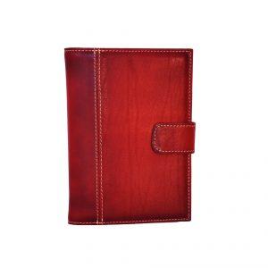 Luxusný kožený pracovný diár v bordovej farbe (limitovaná edícia)
