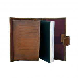 Luxusný kožený pracovný diár v hnedej farbe (limitovaná edícia)