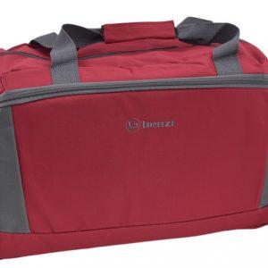 Cestovná taška červená/šedá