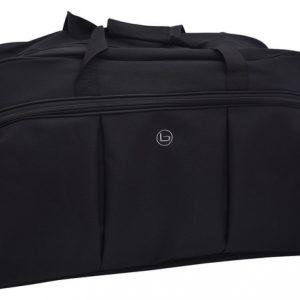 Cestovná taška čierna, zipsová