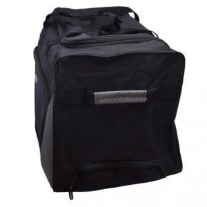 Cestovná taška s kolieskami, čierna/šedá