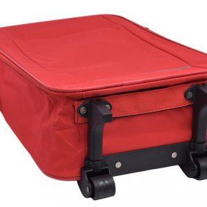 Cestovný kufor červený