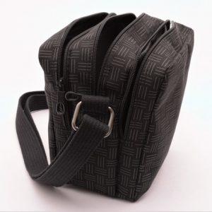 Pánska príručná zipsová taška kombinovaná