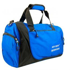 Športová taška modro-šedá