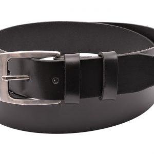 Pánsky kožený opasok čierny