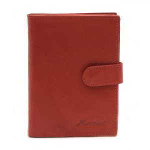 Dokladovka praktická farbená červená