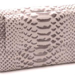 Dámska peňaženka biela vzor