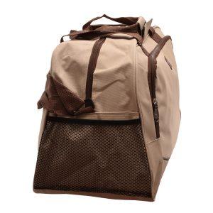 Cestovná taška krémová/hnedá