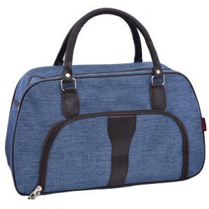 Cestovná taška, svetlo modrá