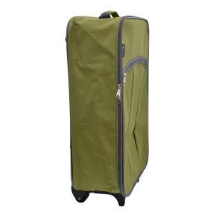 Cestovný kufor zelený