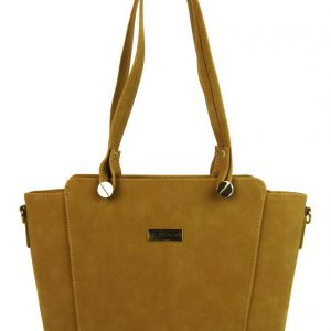 Ťavia hnedo-žltá dámska kabelka cez rameno GROSSO