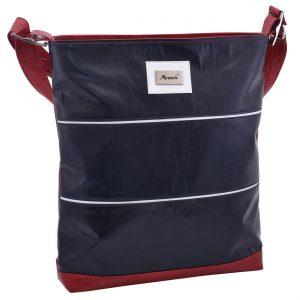 Dámska klasická kabelka trikolóra