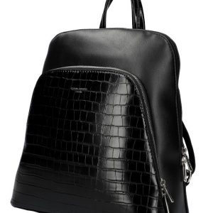 Čierny dámsky módny batôžtek David Jones CM5615
