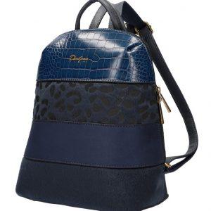 Modrý dámsky módny elegantný batôžtek David Jones