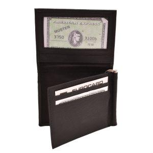 Dolárovka kožená čierna