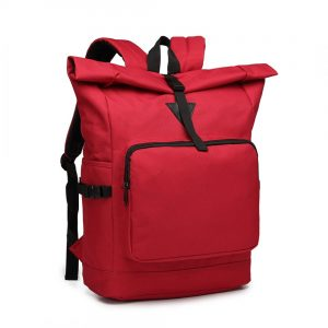 Červený školský batoh Miss Lulu UNISEX