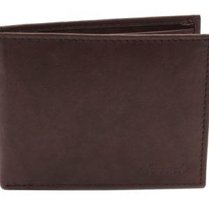 Peňaženka pánska matná hnedá