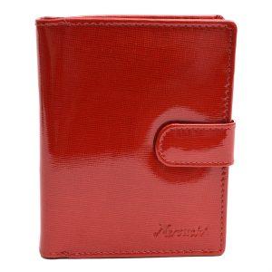 Dámska peňaženka červený lesk