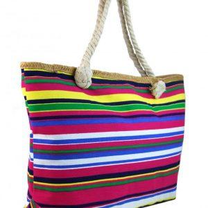 Veľká ľahká plážová taška cez rameno