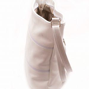 Dámska crossbody kabelka biela